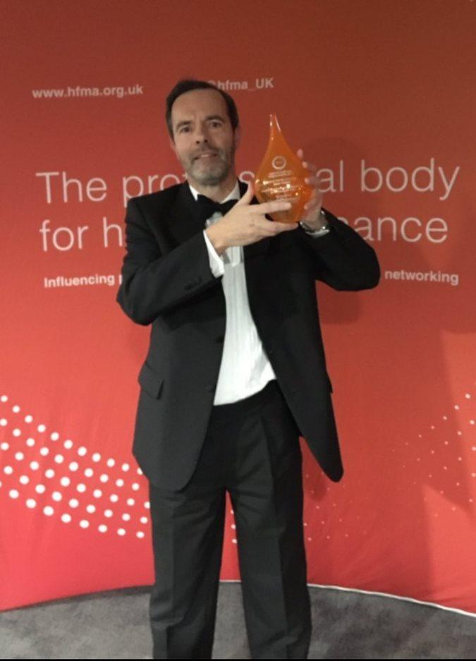 Adrian Wins Finance Director Of The Year Award