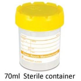 Plain container