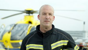 Tony Eggar, Senior Helipad Officer at MFT