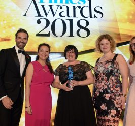Double win for MFT at Nursing Times Awards