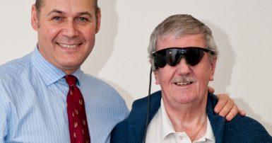 Keith's story - bionic eye