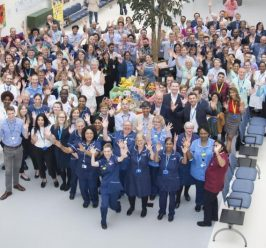 Manchester Royal Eye Hospital celebrates 10th birthday on Oxford Road Campus