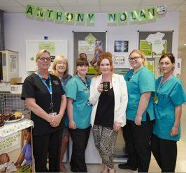 Coronation Street's Jennie McAlpine joins Saint Mary's Hospital and Anthony Nolan in celebrating five years of 'lifesaving mums'