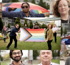 Pride in the NHS Week – 'What the Rainbow Flag means to me'