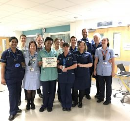 National win for the Advanced Nurse Practitioner team at Manchester Royal Infirmary