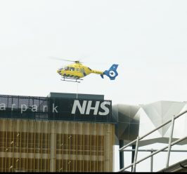 The first elevated Helipad of its kind in the North West opens at Manchester University NHS Foundation Trust