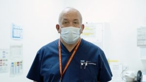 Lorcan Duane, Paediatric Emergency Department Lead for Major Trauma at Royal Manchester Children's Hospital